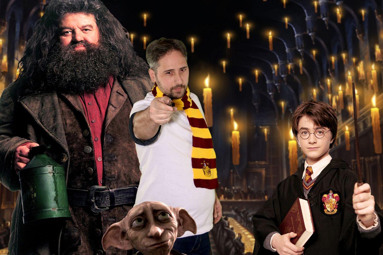 Thème personnalisé Harry Potter avec accessoires fournis (écharpes, baguettes de sorcier).